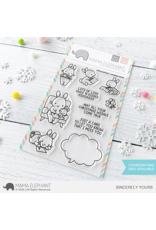 Mama elephant Sincerely Yours Stamp