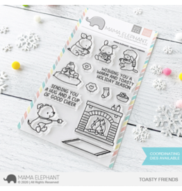Mama elephant Toasty Friends Stamp