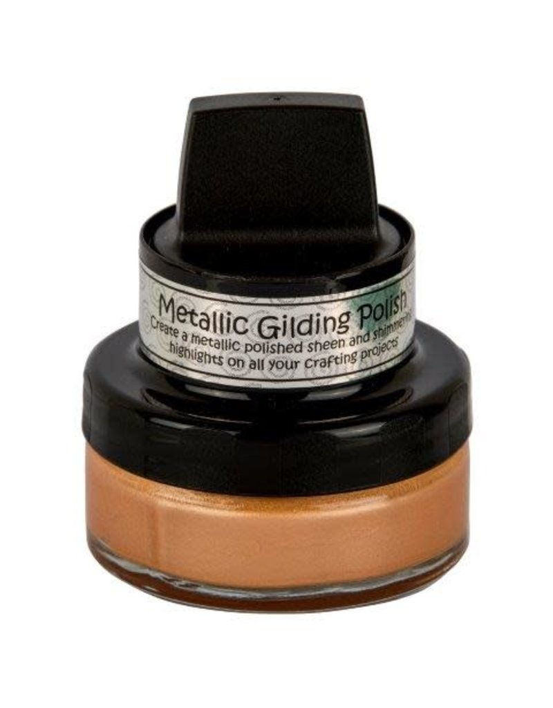 Creative Expressions Apricot Gilding Polish