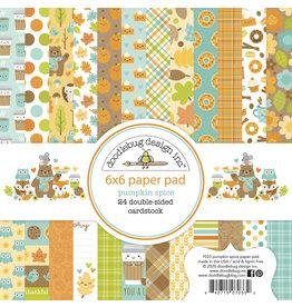 pumpkin spice 6x6 paper pad