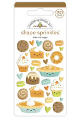 pumpkin spice: bake me happy shape sprinkles