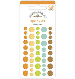 pumpkin spice: fall assortment sprinkles