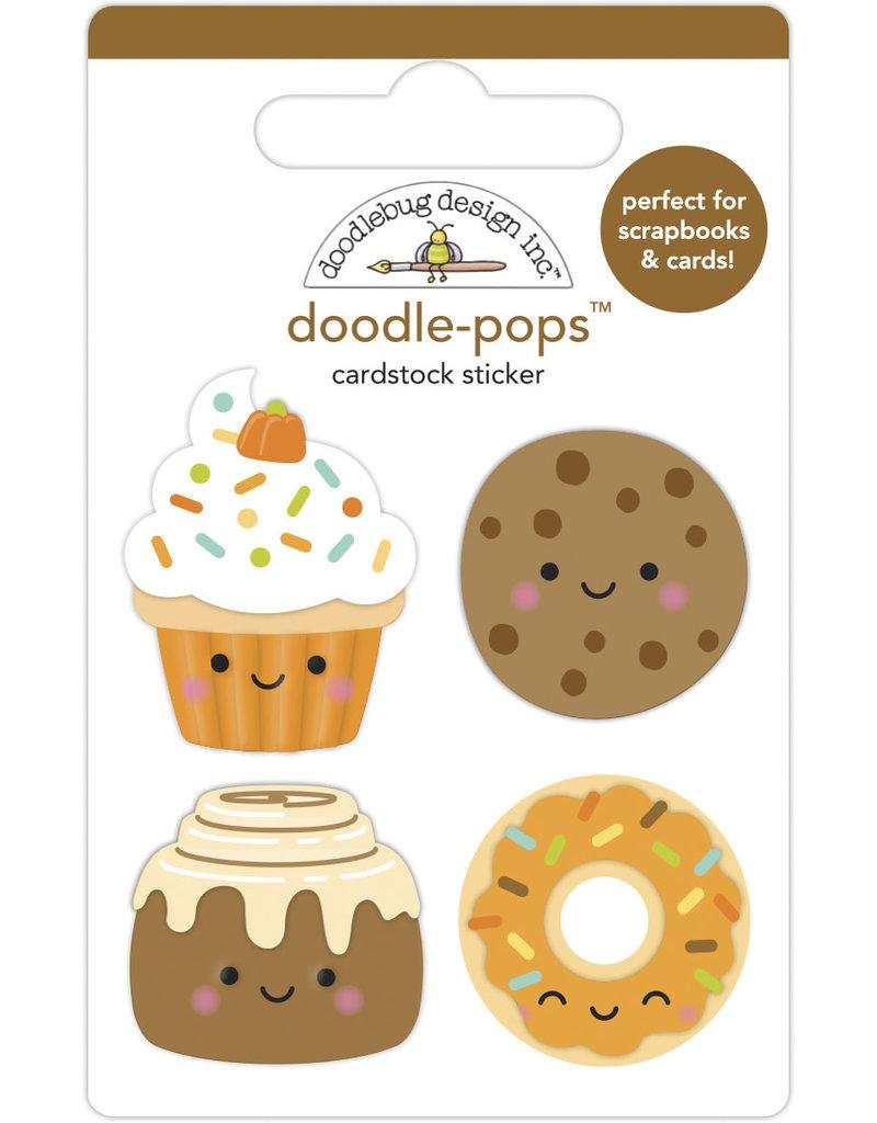 pumpkin spice: fall treats doodle-pops