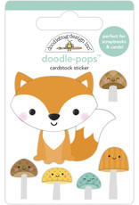 pumpkin spice: fox and friends doodle-pops