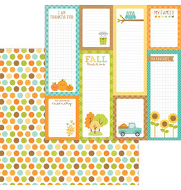 pumpkin spice: harvest berries double-sided cardstock