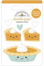 pumpkin spice: pumpkin pie doodle-pops