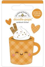 pumpkin spice: pumpkin spice doodle-pops