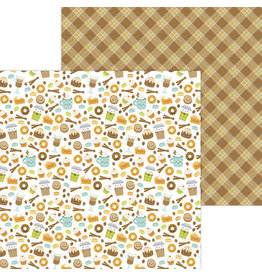 pumpkin spice: pumpkin spice double-sided cardstock
