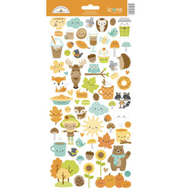 pumpkin spice: pumpkin spice icons sticker