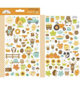 pumpkin spice: pumpkin spice mini icons sticker