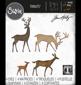Tim Holtz Darling Deer Thinlits Die