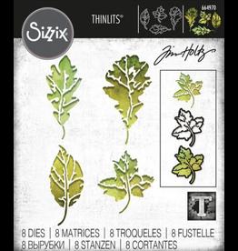 Tim Holtz Leaf Print Thinlits Die