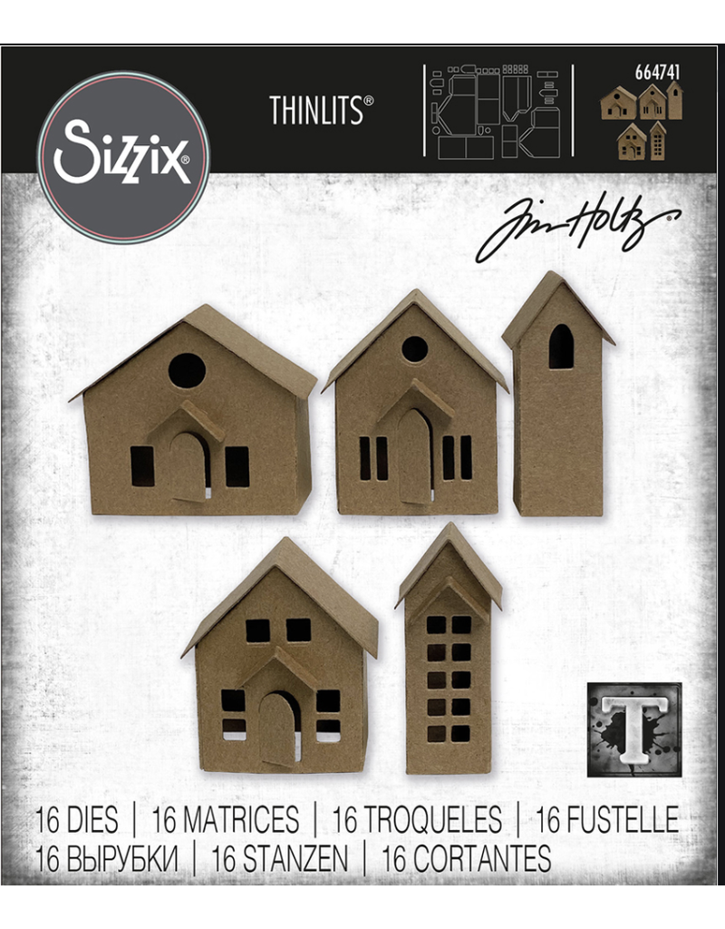 Tim Holtz Paper Village Thinlits Die
