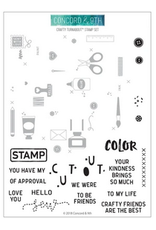 concord & 9th Crafty Turnabout Stamp