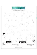 concord & 9th Let It Snow Turnabout Stamp