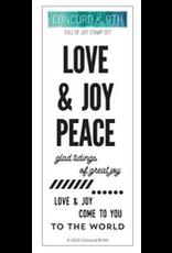 concord & 9th Full of Joy Stamp Set