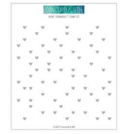 concord & 9th Heart Turnabout Stamp