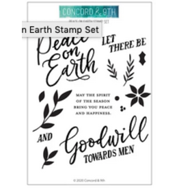 concord & 9th Peace on Earth Stamp Set