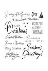 Tim Hotlz Christmastime #3 Stamp
