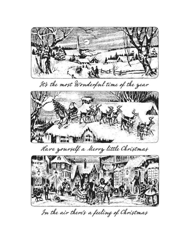 Tim Hotlz Holiday Scenes Stamp