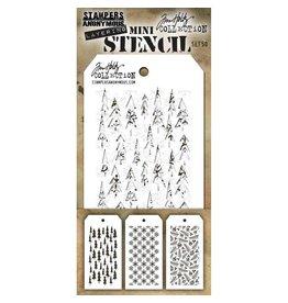 Tim Hotlz Mini Stencil Set #50 (3 EA.)