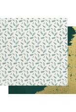 Kaisercraft Emerald Eve Paper - FIR SPRIGS
