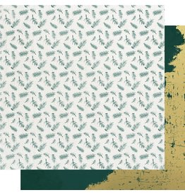 Kaisercraft Emerald Eve Paper - FIR SPRIGS
