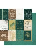 Kaisercraft Emerald Eve Paper - MERRY MOMENTS