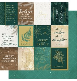 Kaisercraft Emerald Eve Paper - MERRY MOMENTS