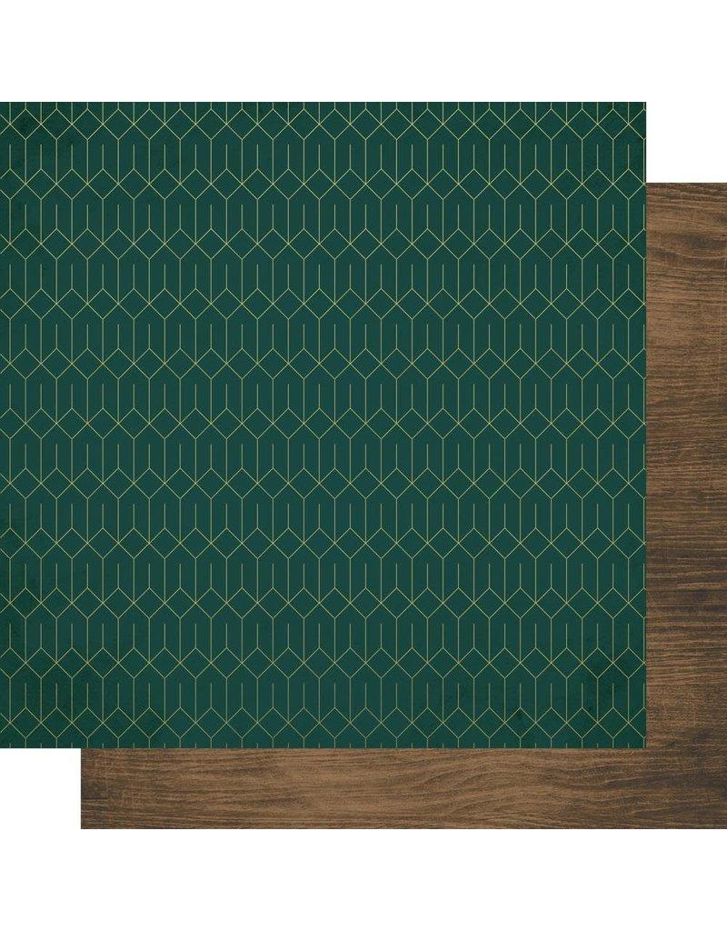 Kaisercraft Emerald Eve Paper - REJOICE