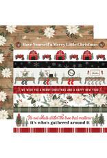 Carta Bella Farmhouse Christmas Paper: Border Strips