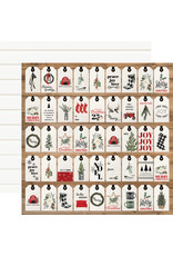 Carta Bella Farmhouse Christmas Paper: Gift Tags