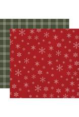 Carta Bella Farmhouse Christmas Paper: Snowflakes