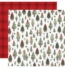 Carta Bella Farmhouse Christmas Paper: Tree Farm