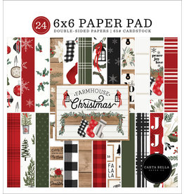 Carta Bella Farmhouse Christmas:  6x6 Paper Pad