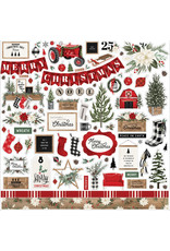 Carta Bella Farmhouse Christmas:  Element Sticker