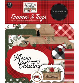 Carta Bella Farmhouse Christmas:  Frames & Tags