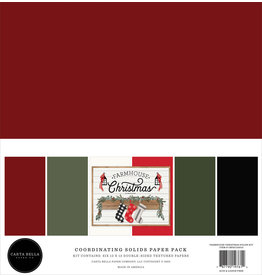 Carta Bella Farmhouse Christmas:  Solids Kit