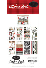Carta Bella Farmhouse Christmas:  Sticker Book