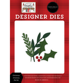 Carta Bella Farmhouse Christmas: Christmas Greenery Die Set