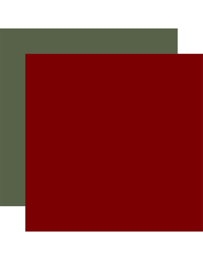 Carta Bella Farmhouse Christmas: Dk. Red / Sage Green