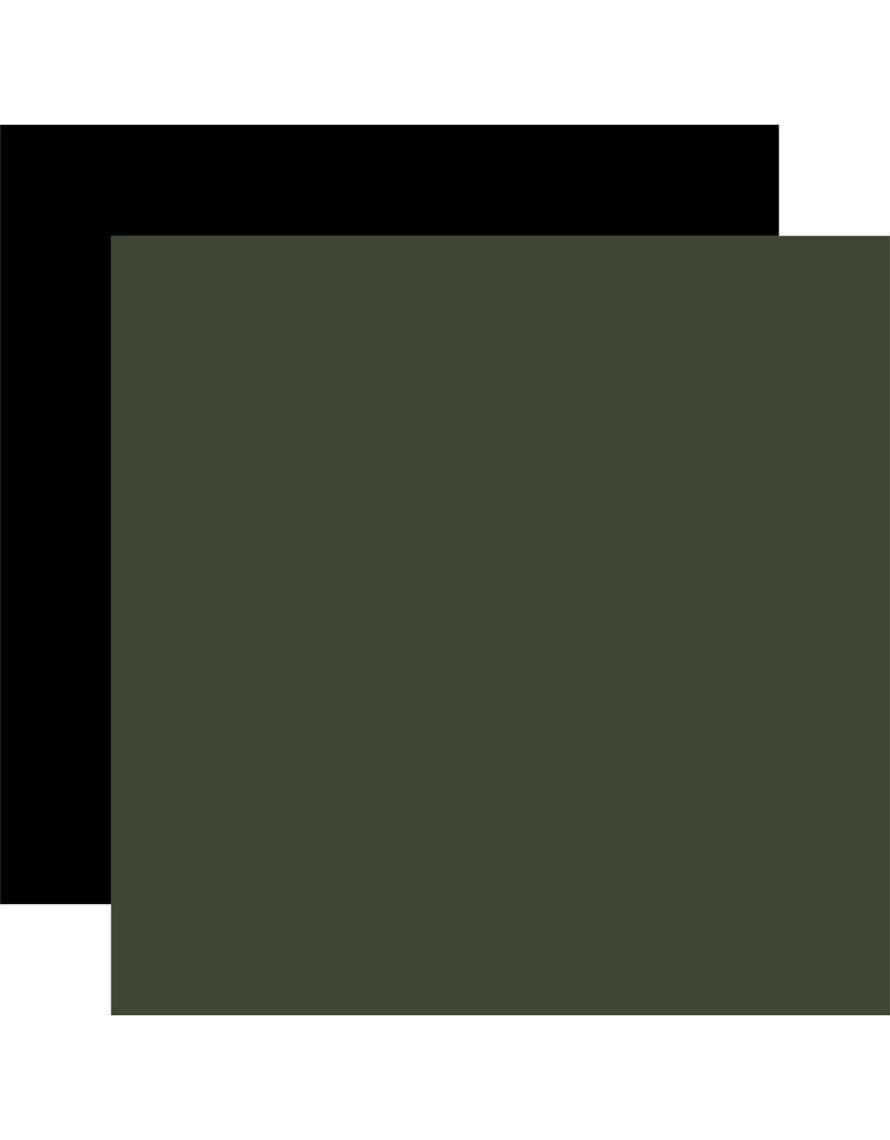 Carta Bella Farmhouse Christmas: Green / Black