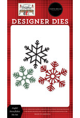 Carta Bella Farmhouse Christmas: Joyful Snowflakes Die Set