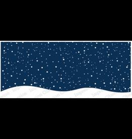 Impression Obsession IO Slim Scenes Stamp Snowy Night