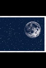 Impression Obsession IO Slim Scenes Stamp Lg Night Sky with Moon