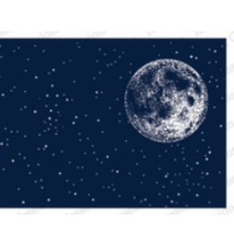 Impression Obsession IO Slim Scenes Stamp Lg Night Sky with Moon