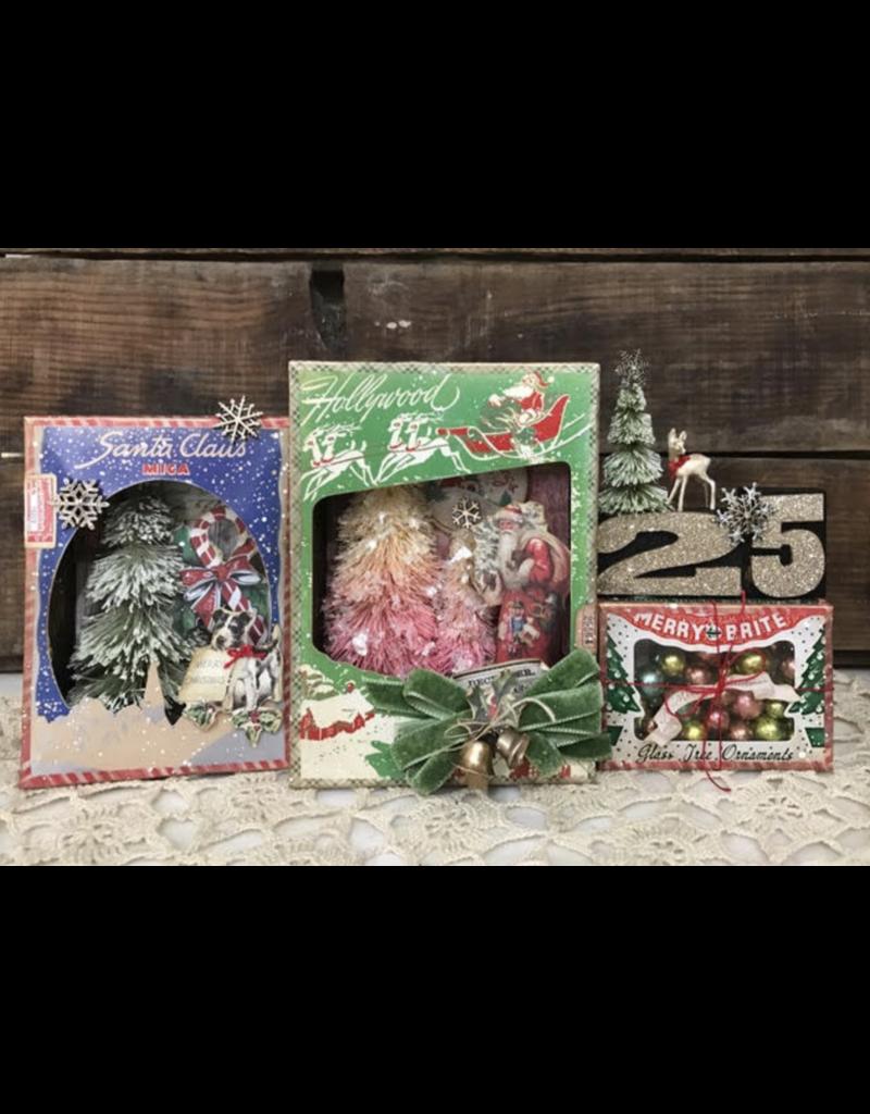 richele christensen 11/21 Christmas Trio Vignette Boxes with Richele