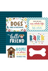 My Dog Paper: 6X4 Journaling Cards