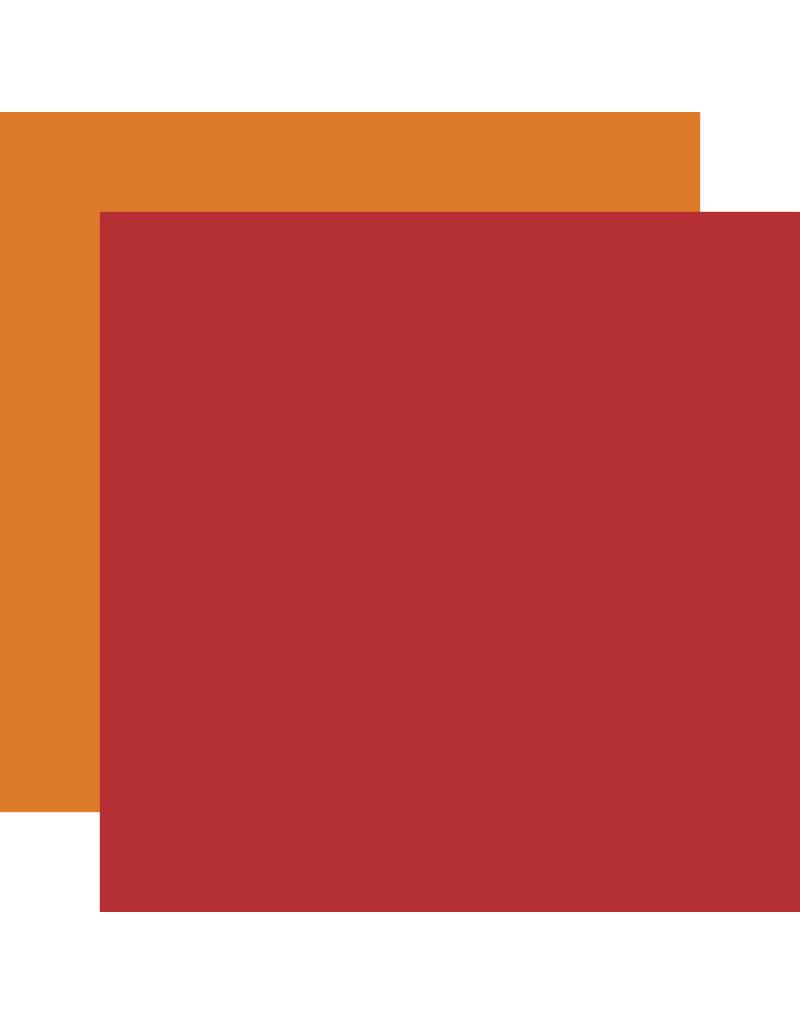 My Dog Paper: Red / Orange