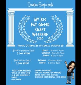 Creative Escape 10/23 My Big Fat Greek Crop Weekend